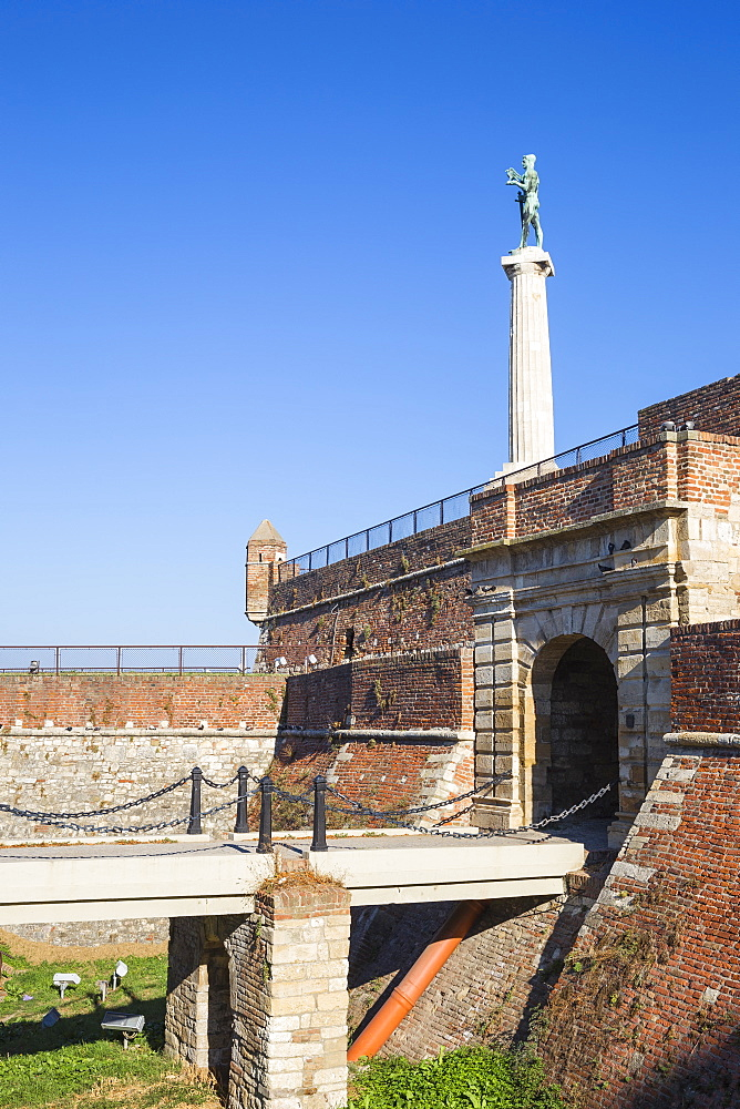 Victor Monument at Belgrade Fortress, Kalemegdan Park, Belgrade, Serbia, Europe