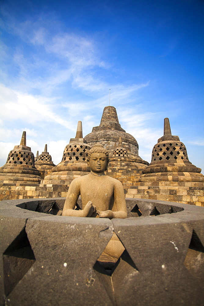 Borobudur Temple, UNESCO World Heritage Site, Magelang, Java, Indonesia, Southeast Asia, Asia - 1104-1389