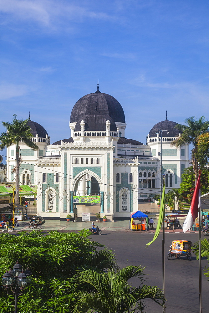Great Mosque, Medan, Sumatra, Indonesia, Southeast Asia, Asia