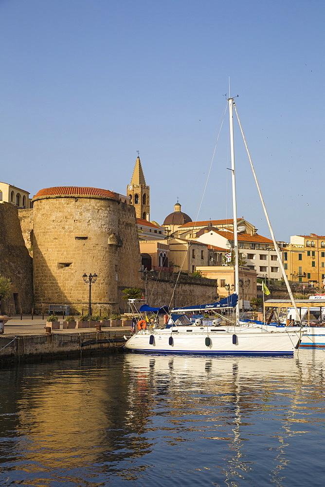 Marina, Alghero, Sardinia, Italy, Mediterranean, Europe