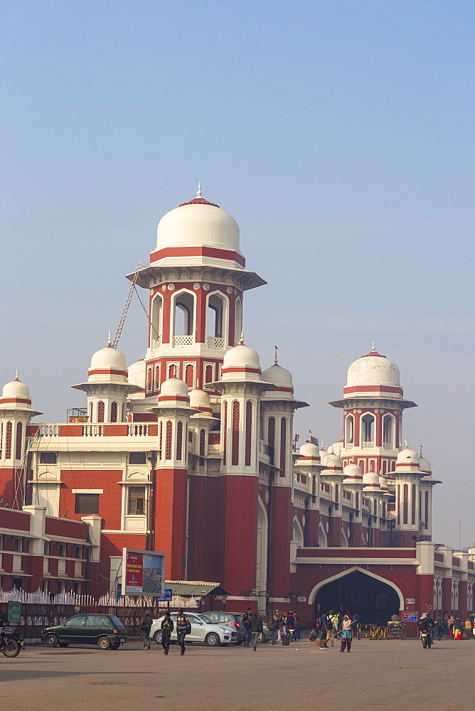 Railway station, Lucknow, Uttar Pradesh, India, Asia
