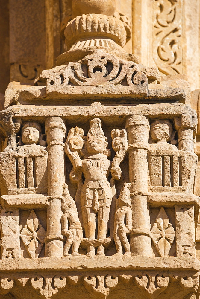 Sasbahu Temple, Gwalior Fort, Gwalior, Madhya Pradesh, India, Asia