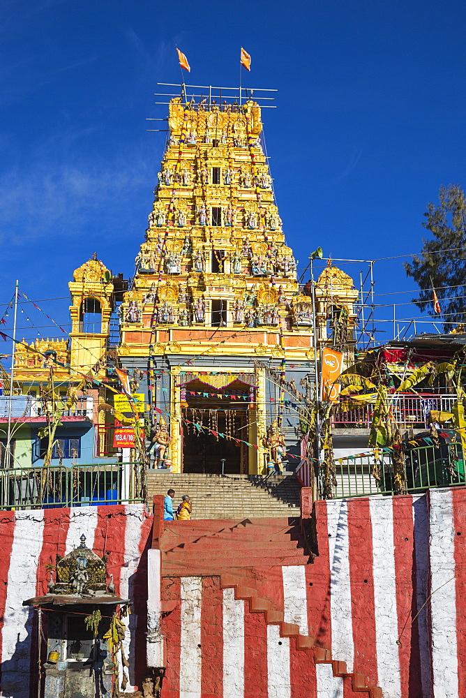 Hindu Temple, Talawakelle, Nuwara Eliya, Central Province, Sri Lanka, Asia