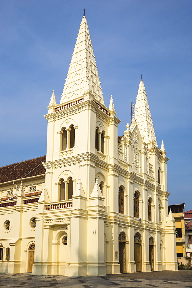 Santa Cruz Basilica, Fort Kochi, Cochin (Kochi), Kerala, India, Asia - 1104-1778