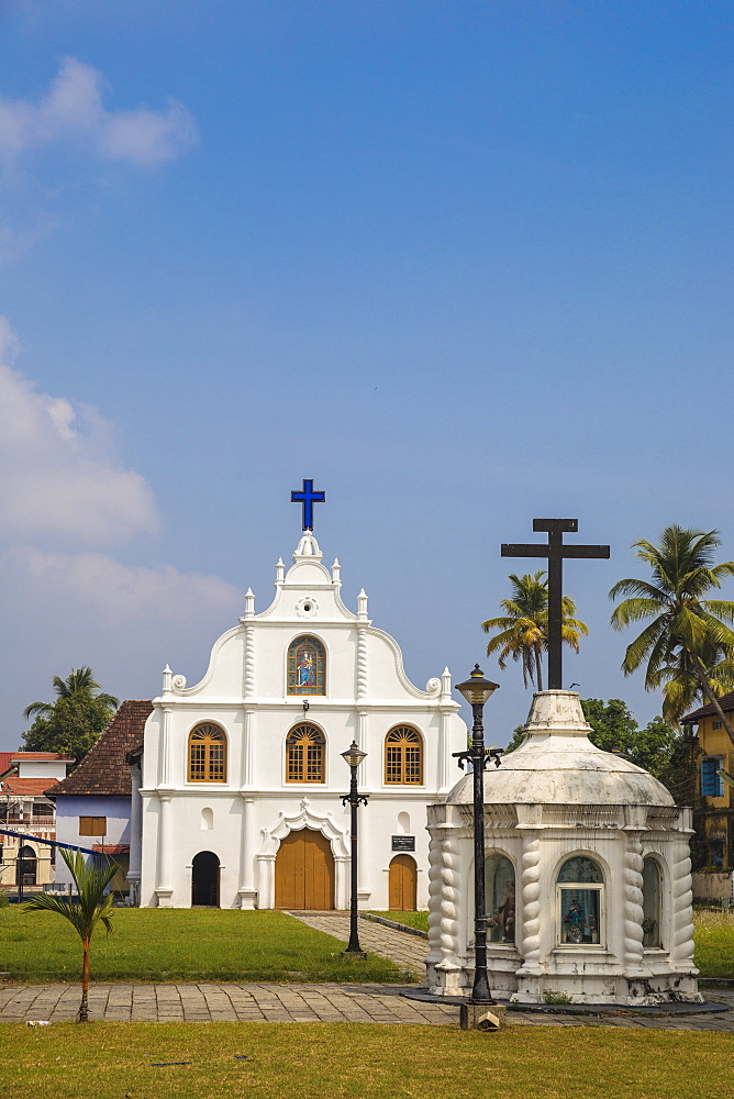 India, Kerala, Cochin - Kochi, Our Lady of Hope Church on Vipin Island