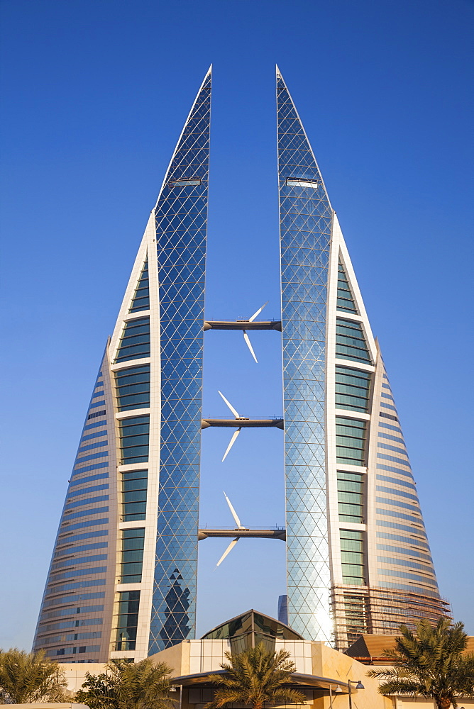 Bahrain World Trade Center, Manama, Bahrain, Middle East - 1104-1865