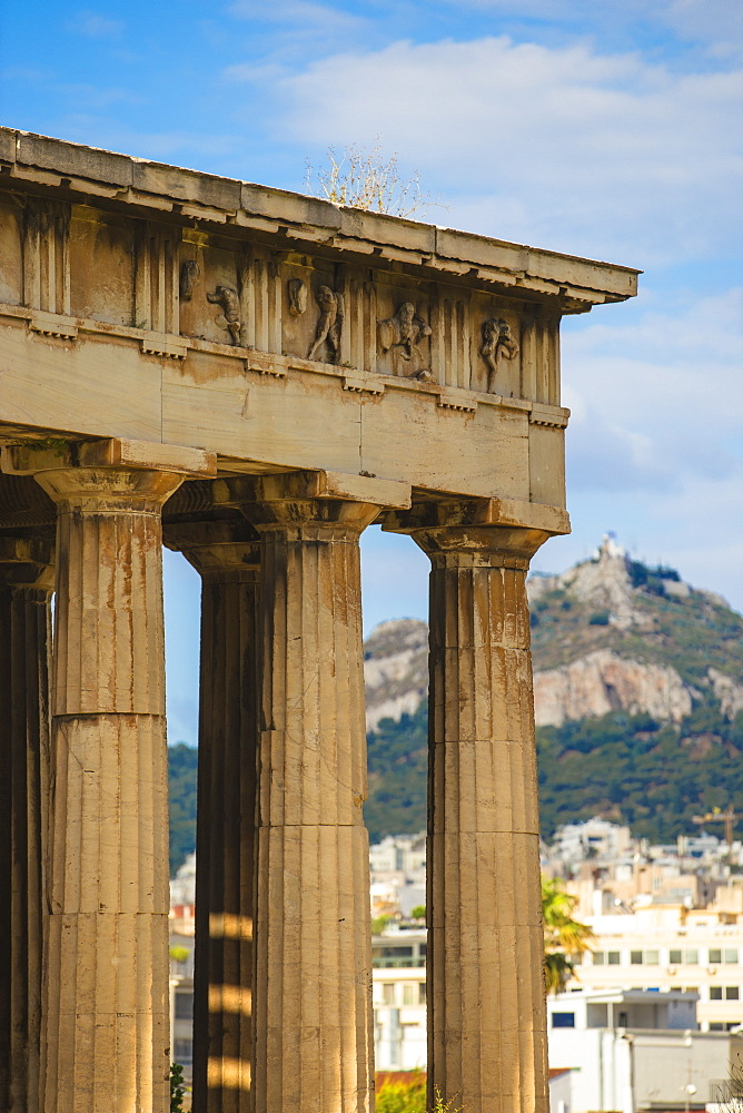 Temple of Hephaestus, The Agora, Athens, Greece, Europe