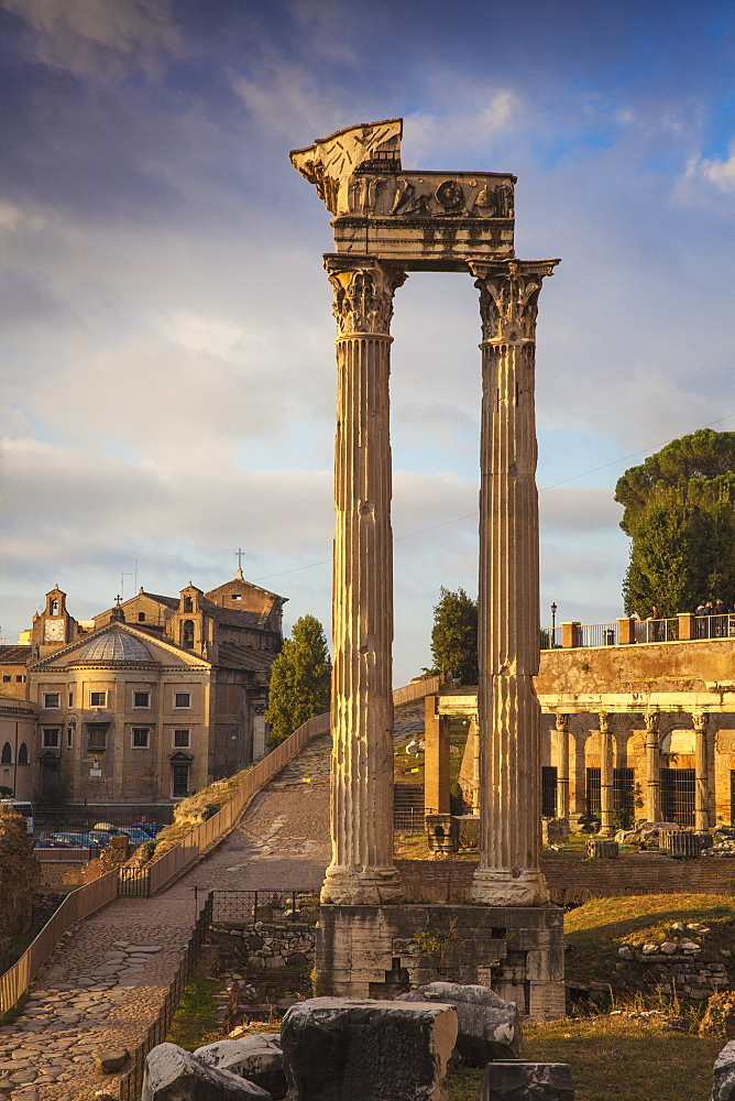 The Roman Forum, UNESCO World Heritage Site, Rome, Lazio, Italy, Europe