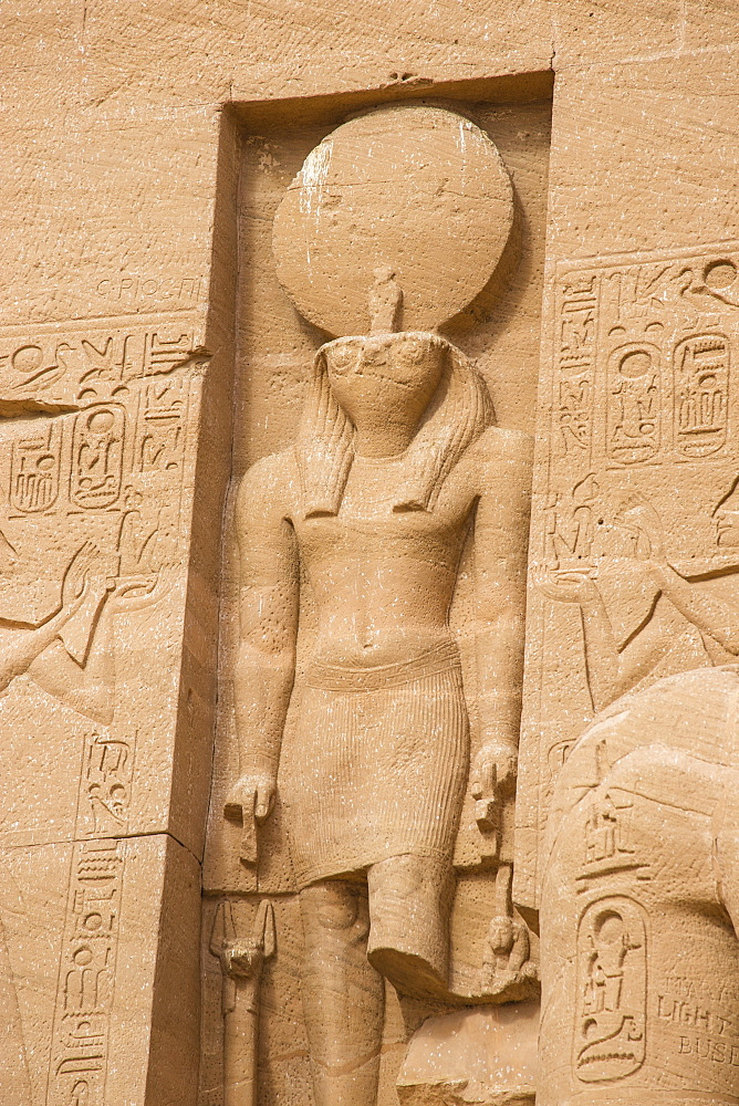 Egypt, Abu Simbel, The Great Temple, known as Temple of Ramses II - 1104-817