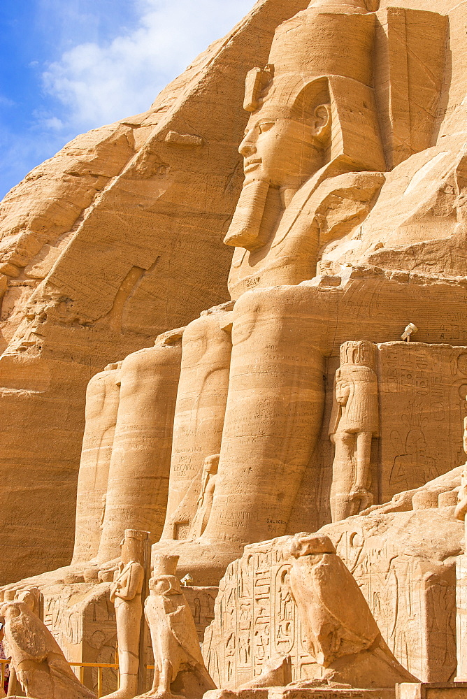 Egypt, Abu Simbel, The Great Temple, known as Temple of Ramses II - 1104-819