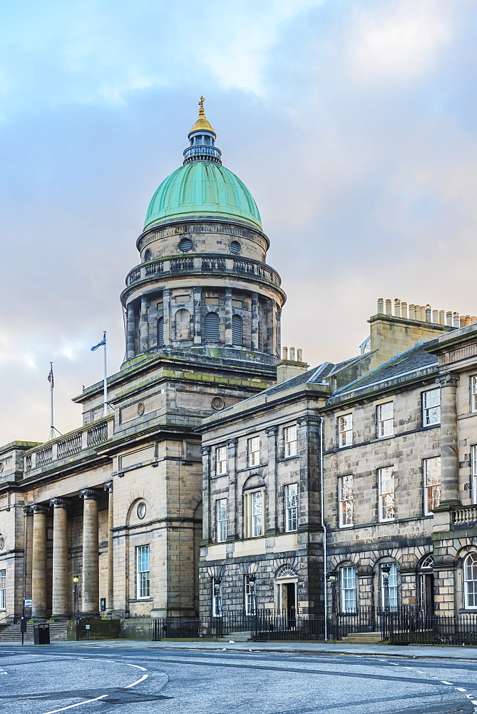 National Records of Scotland building, Edinburgh, Scotland