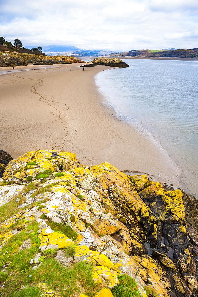 Borth Y Gest Beach, Snowdonia National Park, Gwynedd, North Wales, Wales, United Kingdom, Europe