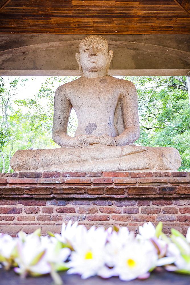 Samadhi Buddha statue, Anuradhapura, UNESCO World Heritage Site, Cultural Triangle, Sri Lanka, Asia
