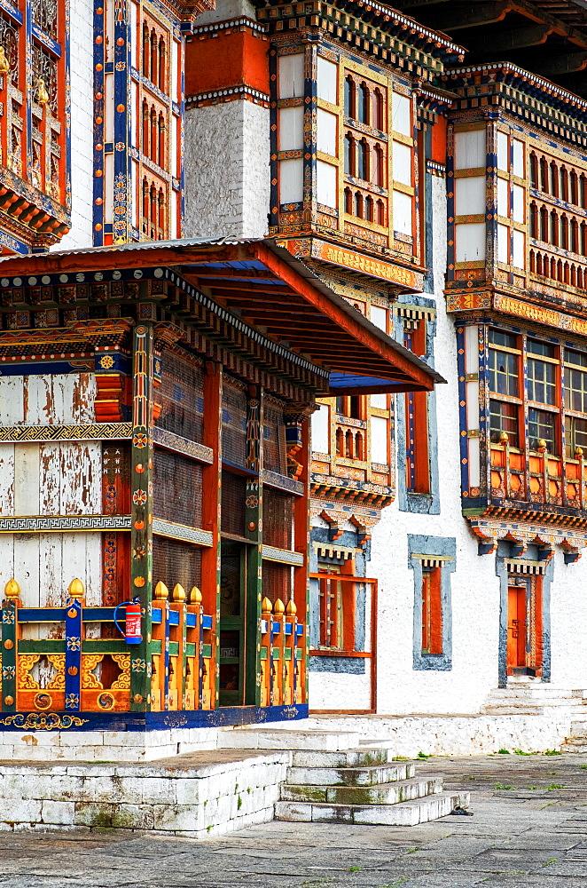 Kurji Lhakhang monastery, Bumthang Village. - 1111-141