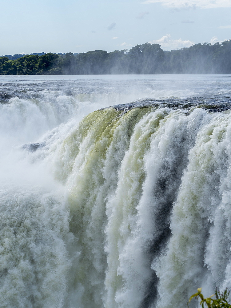 Devil's Throat, known as the Garganta del Diablo in Spanish, Iguazú Falls, Misiones Province, Argentina. - 1112-5105