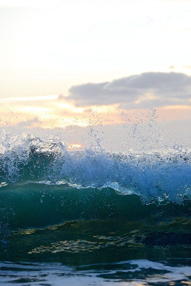 Breaking wave, Praia, Santiago, Cape Verde - 1113-104473