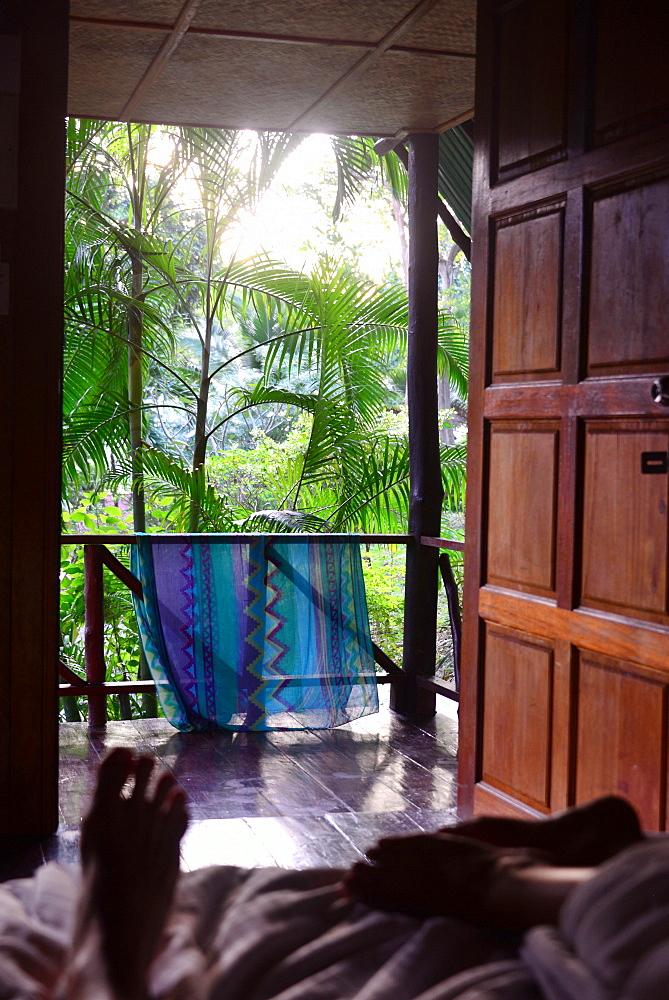 Hut on Kantiang beach, Ko Lanta, Andaman Sea, Thailand, Asia - 1113-104755