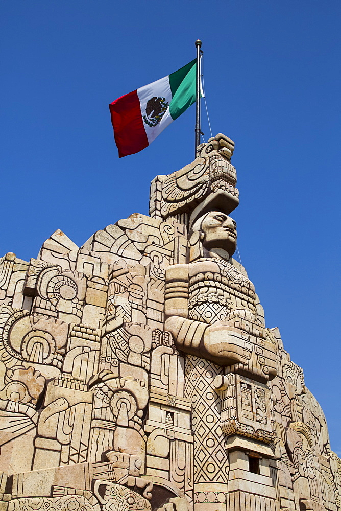Monument to the Patria (Homeland), sculpted by Romulo Rozo, Merida, Yucatan, Mexico