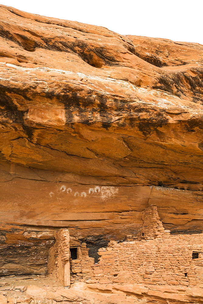 Reverse Handprints, Ancestral Pueblo, up to 1,000 years old, Bears Ears National Monument, Utah, United States of America