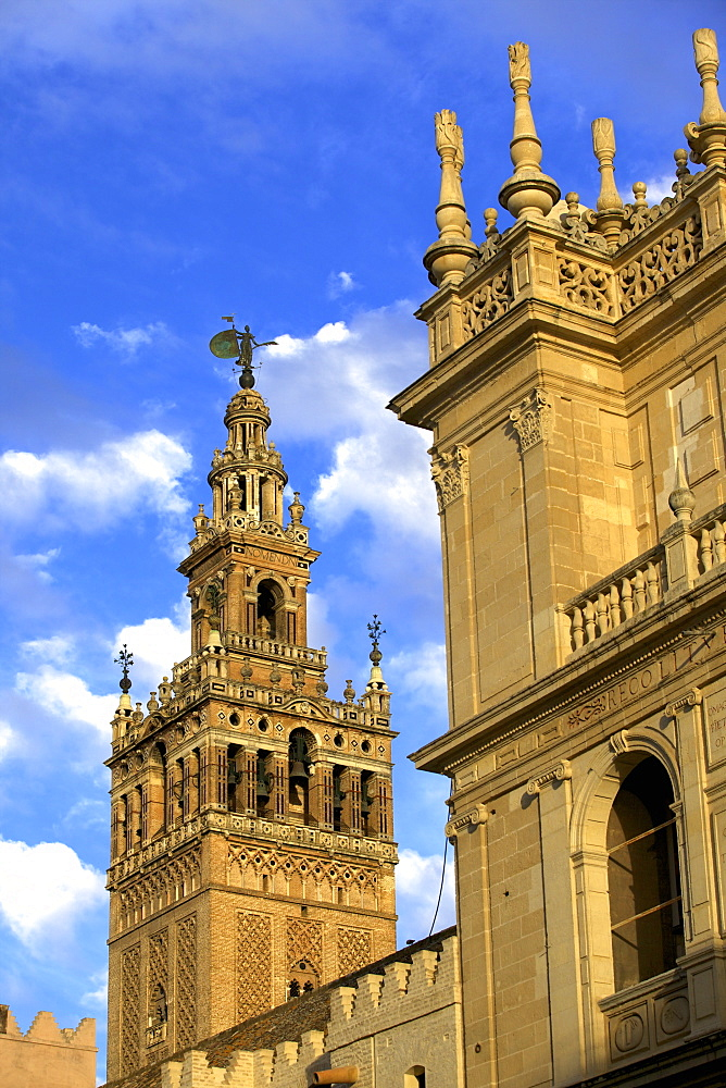 Seville Cathedral, Seville, UNESCO World Heritage Site, Andalucia, Spain, Europe