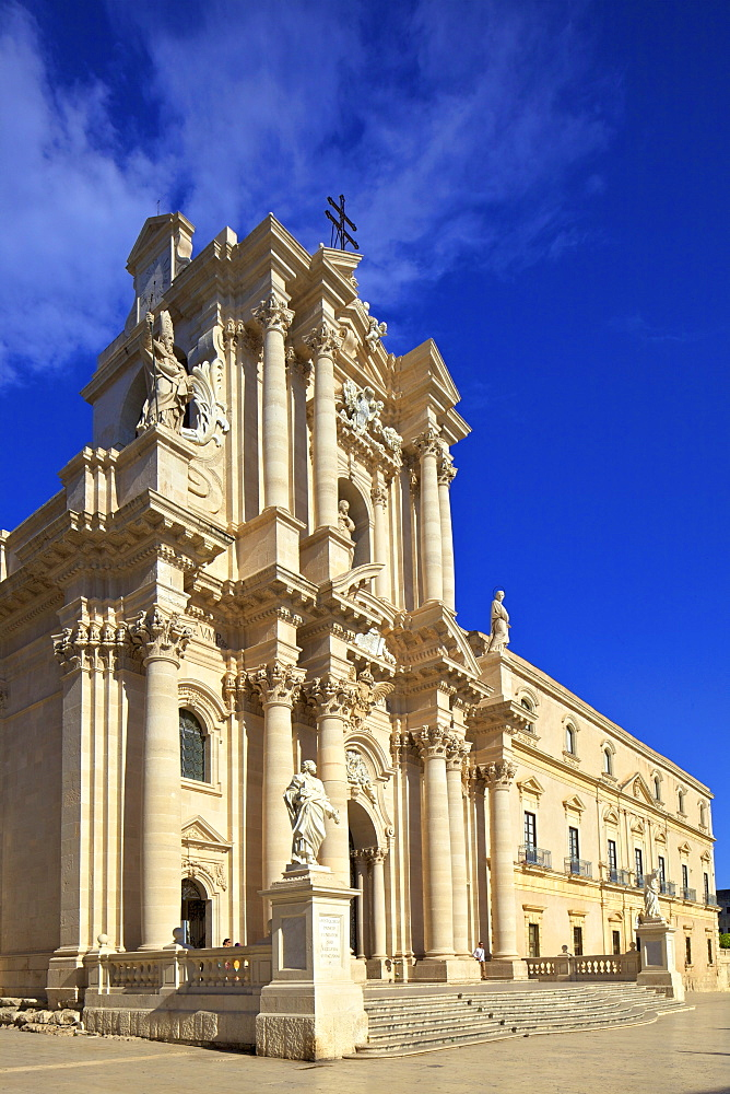 Duomo, Ortygia, Syracuse, Sicily, Italy, Europe