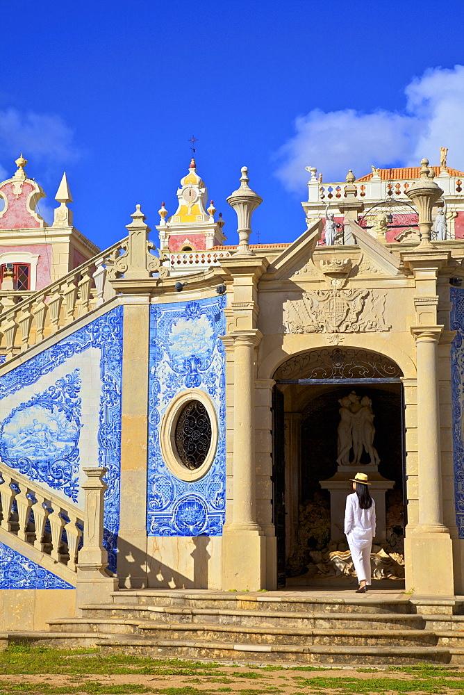 Palace of Estoi, Estoi, Eastern Algarve, Algarve, Portugal, Europe - 1126-1549