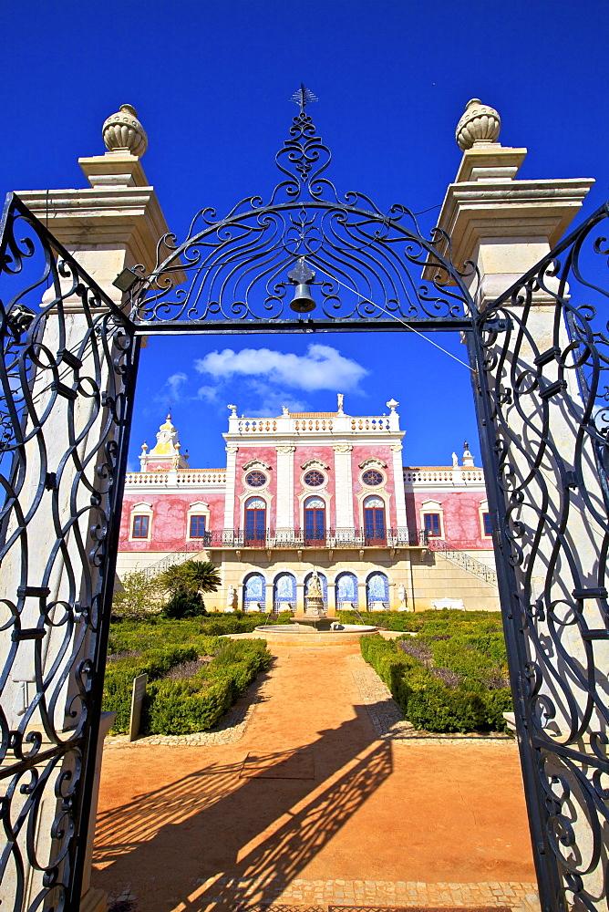 Palace of Estoi, Estoi, Eastern Algarve, Algarve, Portugal, Europe - 1126-1550