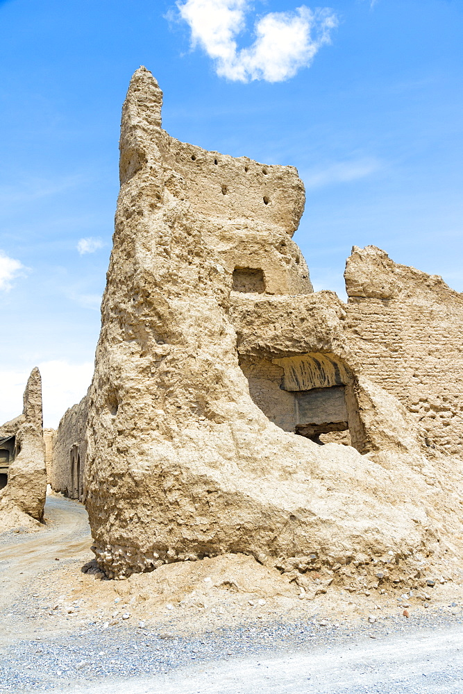 Ruins of Qatruyeh castle, Fars Province, Iran, Middle East