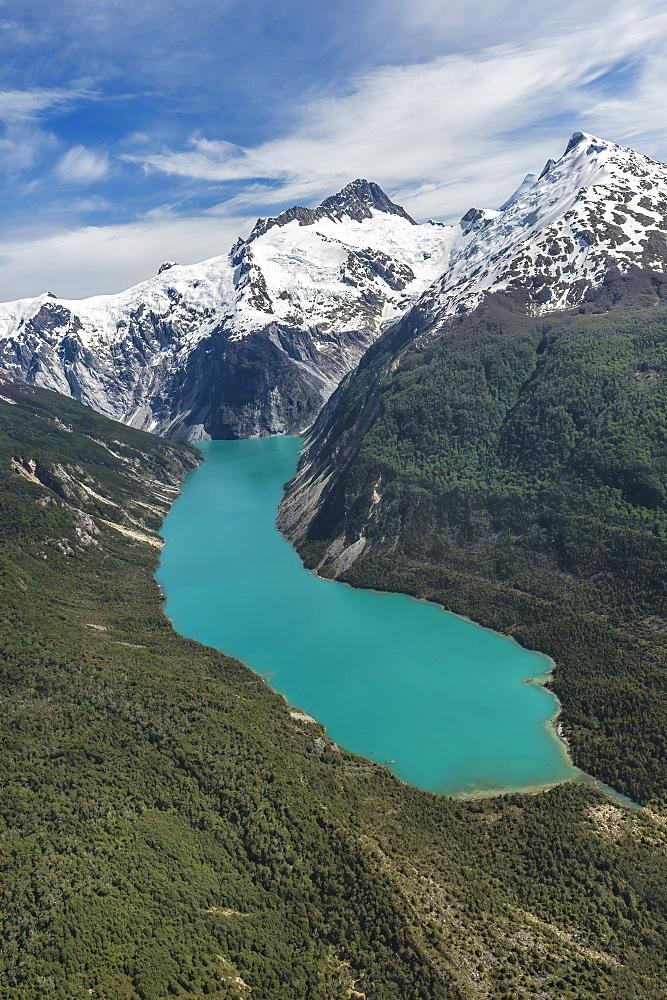 Laguna San Rafael National Park, aerial view, Aysen Region, Patagonia, Chile, South America - 1131-1513