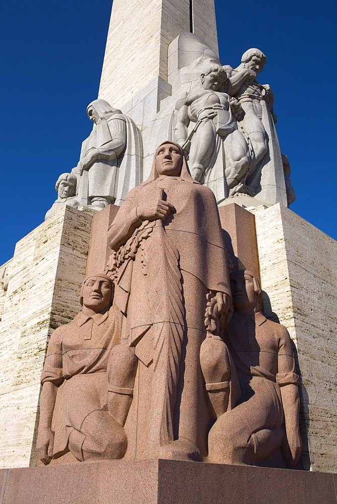 Latvian Freedom Monument, Riga, Latvia, Europe