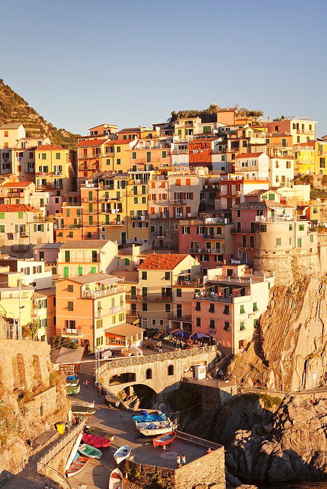 Manarola, Cinque Terre, UNESCO World Heritage Site, Riviera di Levante, Provinz La Spazia, Liguria, Italy, Europe - 1160-2208