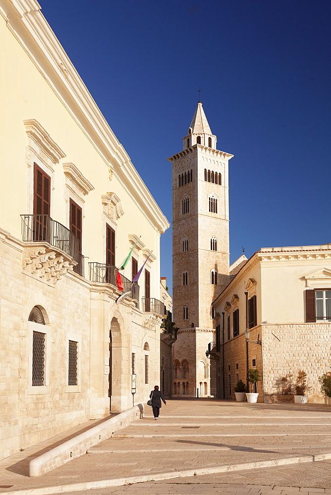 Palazzo Valenzano, San Nicola Pellegrino cathedral, Trani, Le Murge, Barletta-Andria-Trani district, Puglia, Italy, Europe