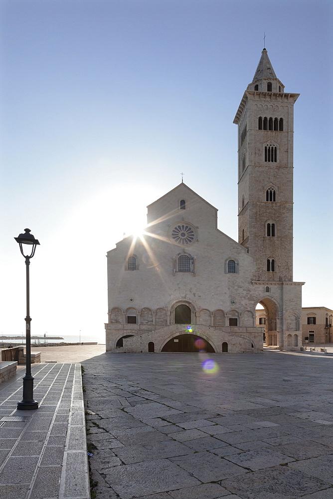 San Nicola Pellegrino cathedral, Piazza del Duomo, Trani, Le Murge, Barletta-Andria-Trani district, Puglia, Italy, Europe