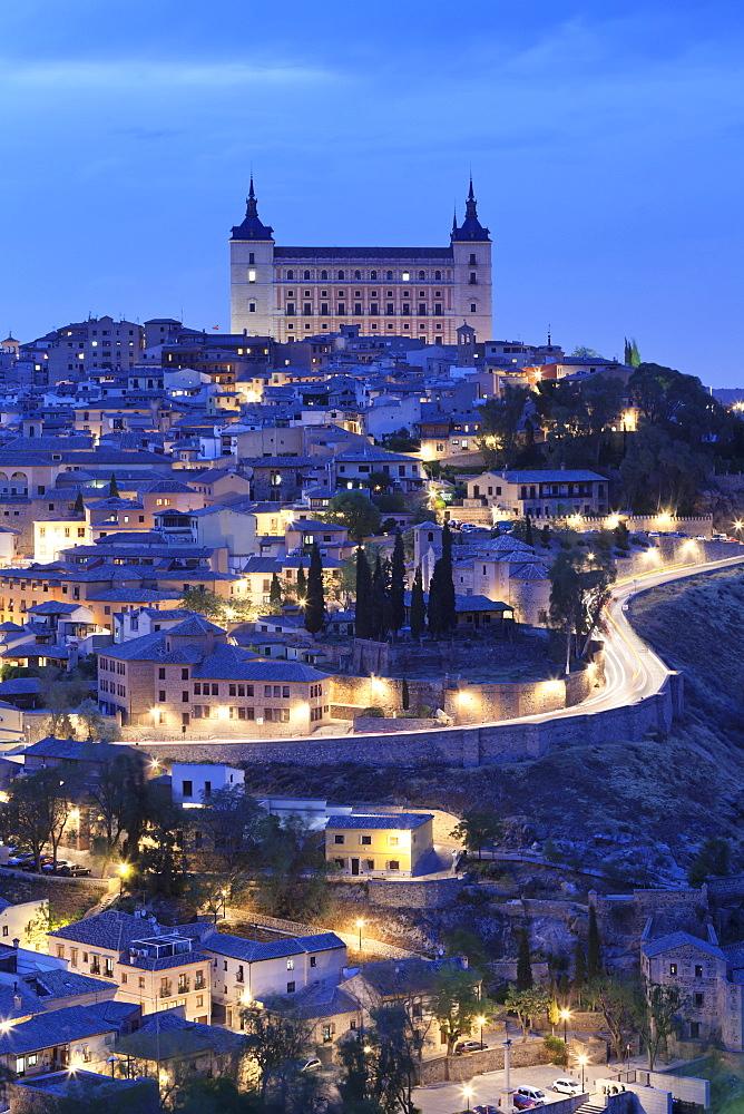 Alcazar, UNESCO World Heritage Site, Toledo, Castilla-La-Mancha, Spain