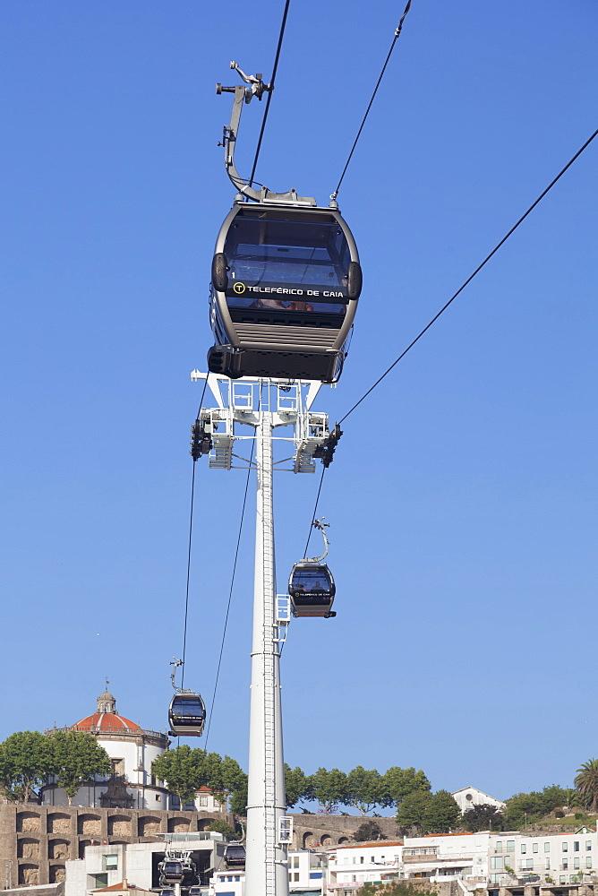 Teleferico de Gaia cable car, Vila Nova de Gaia, Porto (Oporto), Portugal, Europe