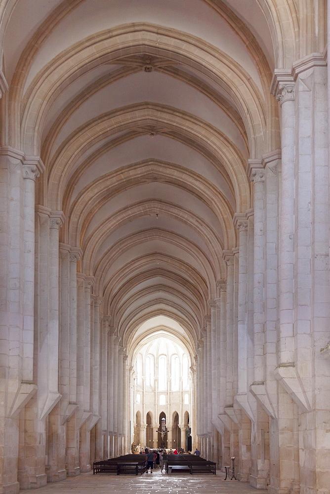 Mosteiro Santa Maria de Alcobaca Monastery, UNESCO World Heritage Site, Alcobaca, Estremadura, Portugal, Europe