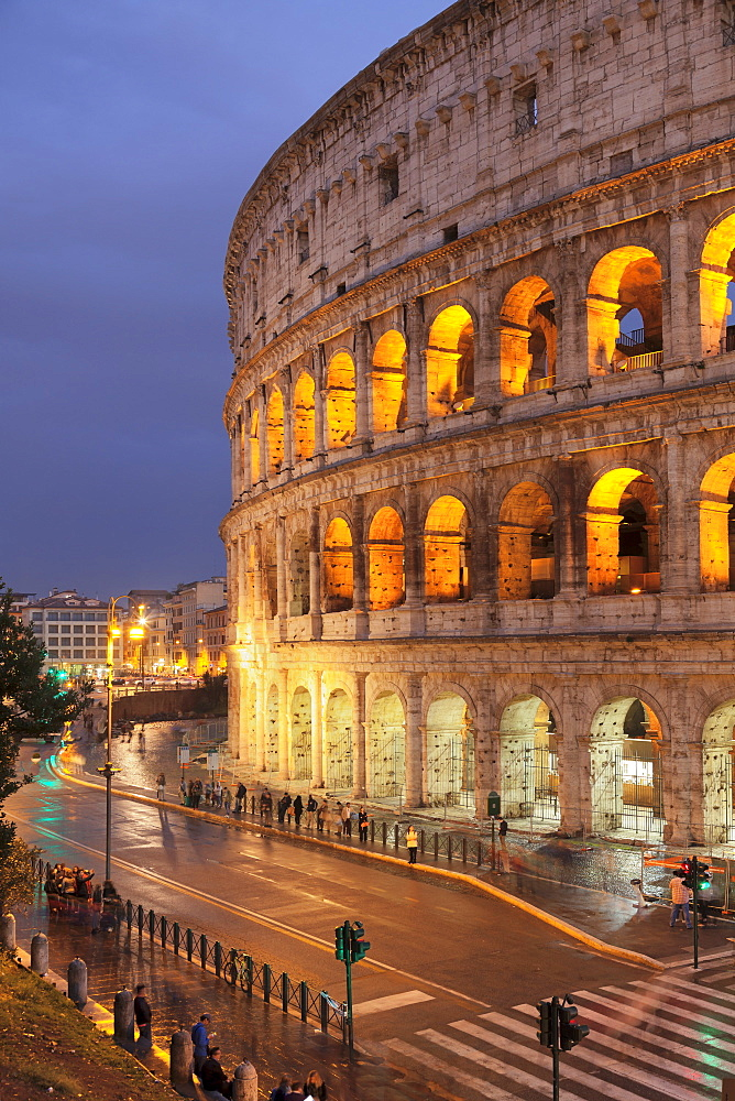 Colosseum (Colosseo), UNESCO World Heritage Site, Rome, Lazio, Italy, Europe - 1160-3848