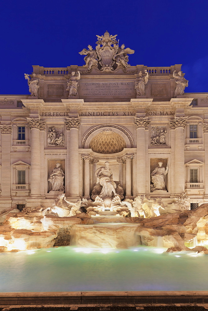 Trevi Fountain (Fontana di Trevi), Rome, Lazio, Italy, Europe - 1160-3877