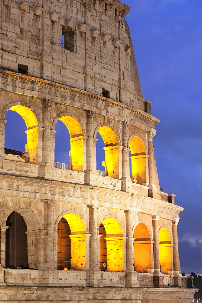 Colosseum (Colosseo), UNESCO World Heritage Site, Rome, Lazio, Italy, Europe - 1160-3884