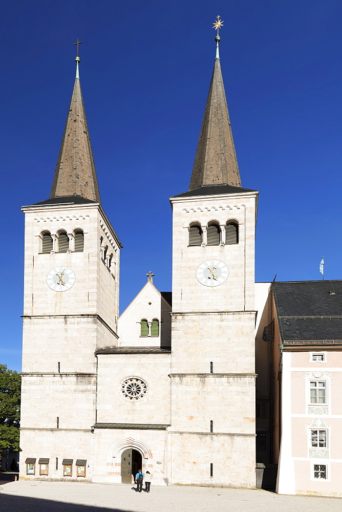 Church of St. Peter and St. Johannes in Berchtesgaden, Germany, Europe