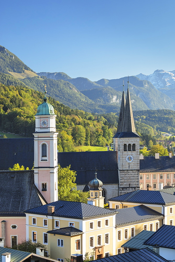 Church of St. Peter by Jenner Mountain in Berchtesgaden, Germany, Europe
