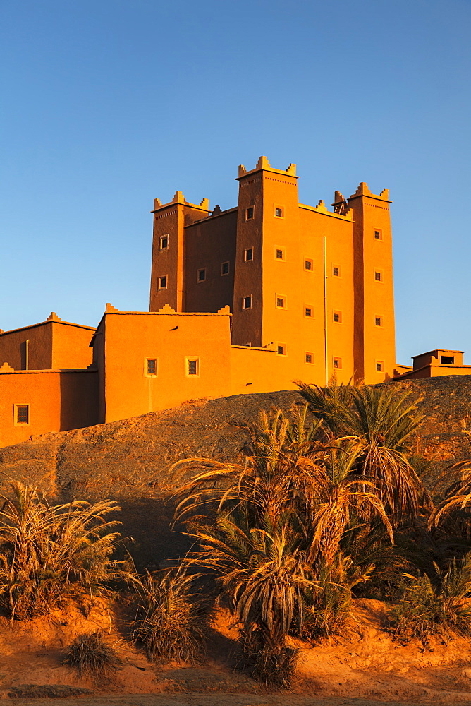 Ait Hamou ou Said Kasbah, Draa Valley, Morocco, North Africa, Africa
