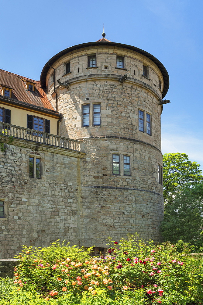 Hohentuebingen Castle, Tuebingen, Baden-Wuerttemberg, Germany