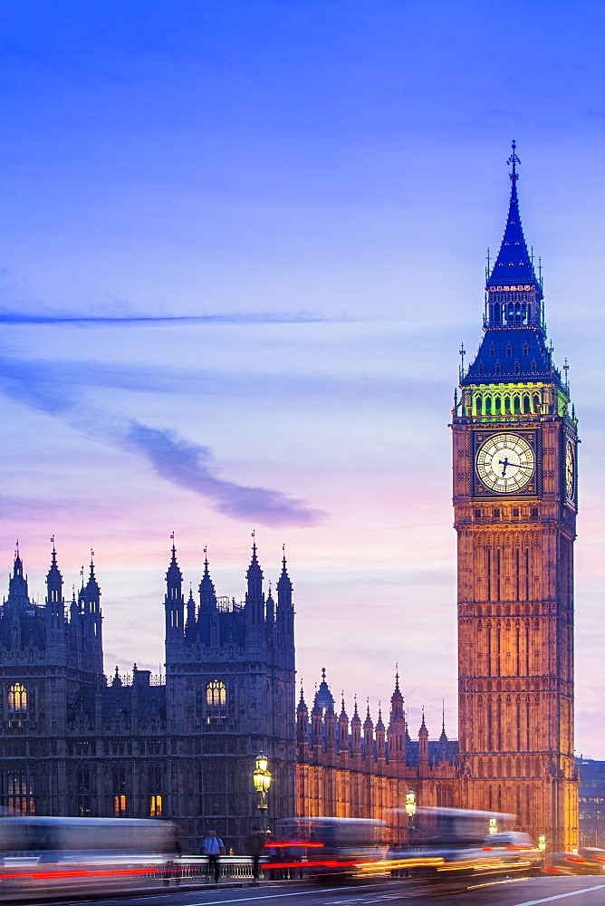 Big Ben (Queen Elizabeth Tower), the Palace of Westminster (Houses of Parliament) and Westminster Bridge - 1176-1199