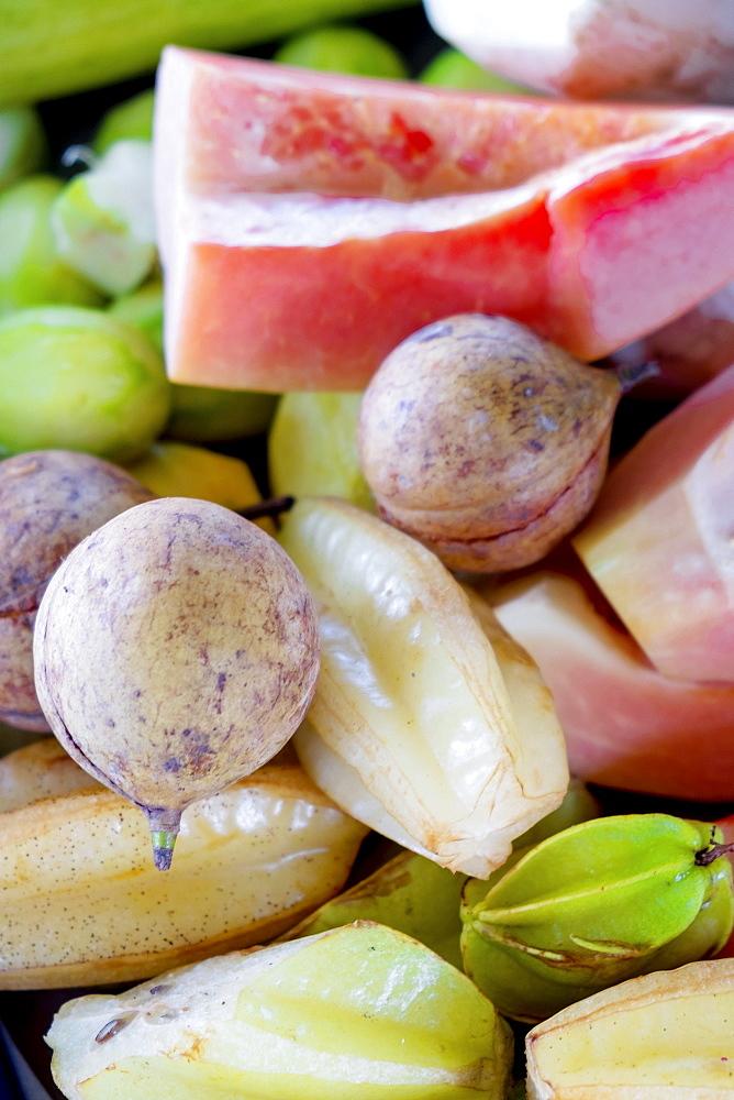 Tropical fruits, Indonesia, Southeast Asia, Asia - 1176-996