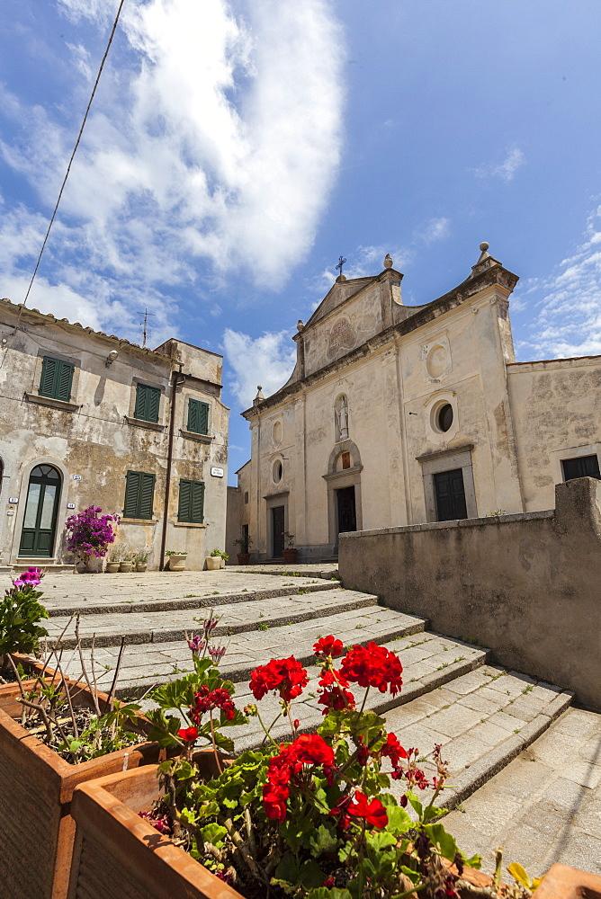 Church of Sant'Ilario in Campo, Elba Island, Livorno Province, Tuscany, Italy, Europe