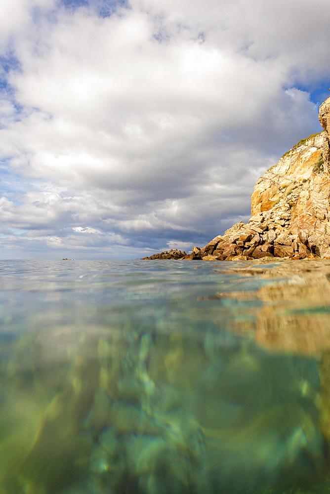 Turquoise sea, Sant'Andrea Beach, Marciana, Elba Island, Livorno Province, Tuscany, Italy - 1179-2663
