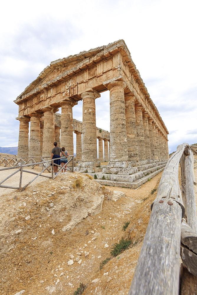 Temple of Segesta, Calatafimi, province of Trapani, Sicily, Italy, Mediterranean, Europe