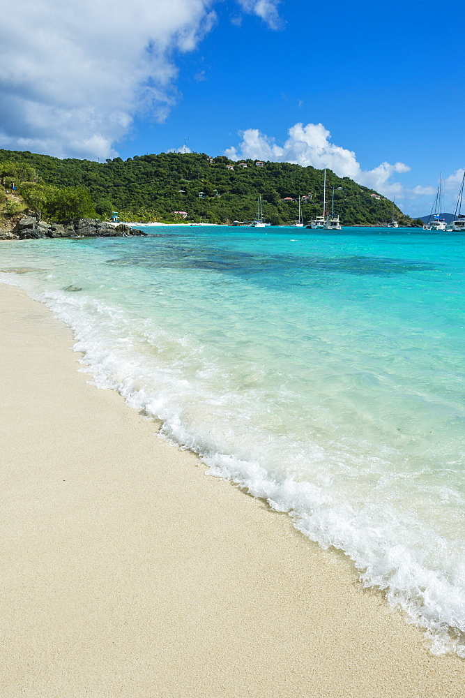 Famous White Bay, Jost Van Dyke, British Virgin Islands, West Indies, Caribbean, Central America