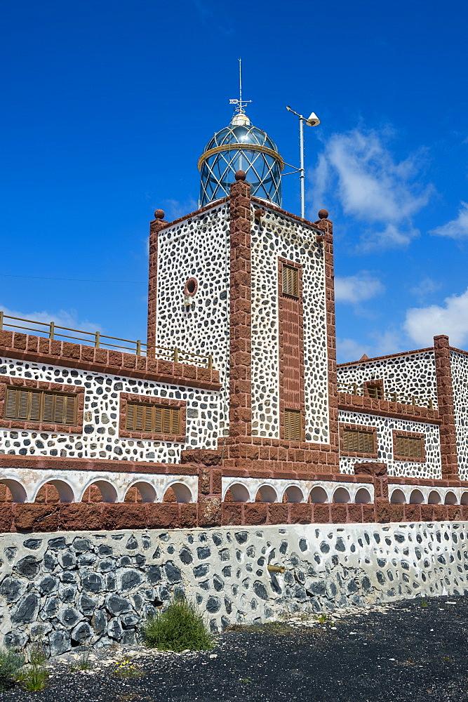 Entallada Lighthouse, Fuerteventura, Canary islands, Spain